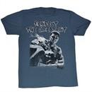 Muhammad Ali Shirt Respect The Great Adult Blue Tee T-Shirt