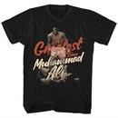 Muhammad Ali Shirt The Greatest Black T-Shirt