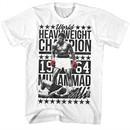 Muhammad Ali Shirt World Heavyweight Champion 1964 White T-Shirt