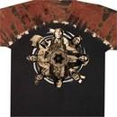 Native American Shirt Native Circle Tribes Tie Dye Tee