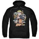 Naruto Shippuden Hoodie Shadow Clone Black Sweatshirt Hoody