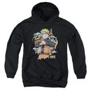 Naruto Shippuden Kids Hoodie Shadow Clone Black Youth Hoody