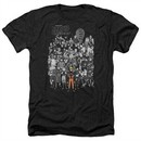 Naruto Shippuden Shirt Characters Heather Black T-Shirt
