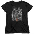 Naruto Shippuden Womens Shirt Characters Black T-Shirt