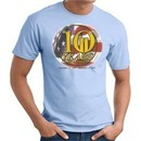 Never Forget T-Shirt 10 Years Anniversary Twin Towers Tee Light Blue