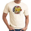 Never Forget T-Shirt 10 Years Anniversary Twin Towers Tee Natural