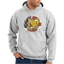 Never Forget Hoodie 10 Years Anniversary Twin Towers Hoody Ash