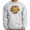Never Forget Sweatshirt 10 Years Anniversary Twin Towers Ash