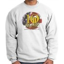 Never Forget Sweatshirt 10 Years Anniversary Memorial White