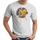 Never Forget T-Shirt 10 Years Twin Towers Memorial Tee Ash