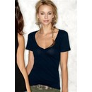 Next Level Ladies T-Shirt Cotton Deep V-Neck Tee Shirt