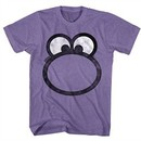 Nerds Candy Shirt Big Face Purple T-Shirt