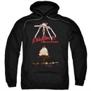 Nightmare On Elm Street Hoodie Alternate Poster Black Sweatshirt Hoody