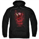 Nightmare On Elm Street Hoodie One Two Freddys Coming For You Black Sweatshirt Hoody