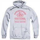 Nightmare On Elm Street Hoodie Springwood High Heather Grey Sweatshirt Hoody