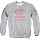 Nightmare On Elm Street Sweatshirt Springwood High Adult Heather Grey Sweat Shirt