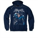 Nightwing DC Comics Hoodie Sweatshirt A Legacy Navy Blue Adult Hoody Sweat Shirt