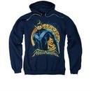 Nightwing DC Comics Hoodie Sweatshirt Moon Navy Blue Adult Hoody Sweat Shirt