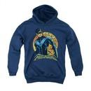 Nightwing DC Comics Youth Hoodie Moon Navy Blue Kids Hoody