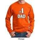 Number 1 Dad Sweatshirt