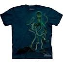 Octopus Shirt Tie Dye Aquatic Fish Adult T-shirt Tee