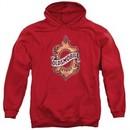 Oldsmobile Hoodie Detroit Emblem Red Sweatshirt Hoody