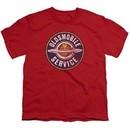 Oldsmobile Kids Shirt Vintage Service Red T-Shirt