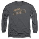 Oldsmobile Long Sleeve Shirt Rocket 88 Charcoal Tee T-Shirt
