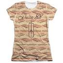 Oldsmobile Shirt Delta 88 Poly/Cotton Sublimation Juniors T-Shirt Front/Back Print