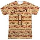 Oldsmobile Shirt Delta 88 Sublimation T-Shirt Front/Back Print