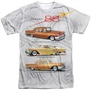 Oldsmobile Shirt Rocket Line Cars Sublimation T-Shirt