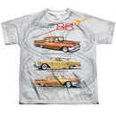 Oldsmobile Shirt Rocket Line Cars Sublimation Youth T-Shirt Front/Back Print