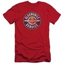 Oldsmobile Slim Fit Shirt Vintage Service Red T-Shirt