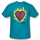 One Tree Hill Shirt C Over B Adult Turquoise Tee T-Shirt