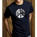 PEACE EARTH Sign Symbol 100% Organic Cotton Adult T-shirt