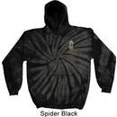 Pineapple Patch Pocket Print Tie Dye Hoodie