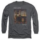 Pink Floyd Long Sleeve Shirt Faded Animals Charcoal Tee T-Shirt