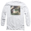 Pink Floyd Long Sleeve Shirt Saucerful Of Secrets White Tee T-Shirt