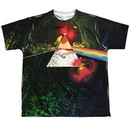 Pink Floyd Shirt Dark Side Of The Moon Sublimation Youth T-Shirt Front/Back Print