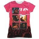 Pink Floyd Shirt Live Sublimation Juniors T-Shirt Front/Back Print
