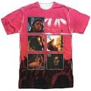 Pink Floyd Shirt Live Sublimation T-Shirt Front/Back Print