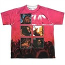 Pink Floyd Shirt Live Sublimation Youth T-Shirt Front/Back Print