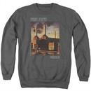 Pink Floyd Sweatshirt Faded Animals Adult Charcoal Sweat Shirt