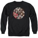 Pink Floyd Sweatshirt Piper Adult Black Sweat Shirt