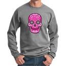 Pink Sugar Skull Sweatshirt