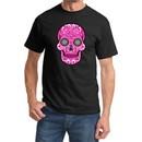 Pink Sugar Skull T-shirt