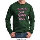 Pink Suns Out Guns Out Sweatshirt