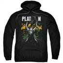 Platoon Hoodie Graphic Black Sweatshirt Hoody