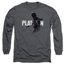 Platoon Long Sleeve Shirt Shadow Of War Charcoal Tee T-Shirt
