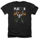 Platoon Shirt Graphic Heather Black T-Shirt